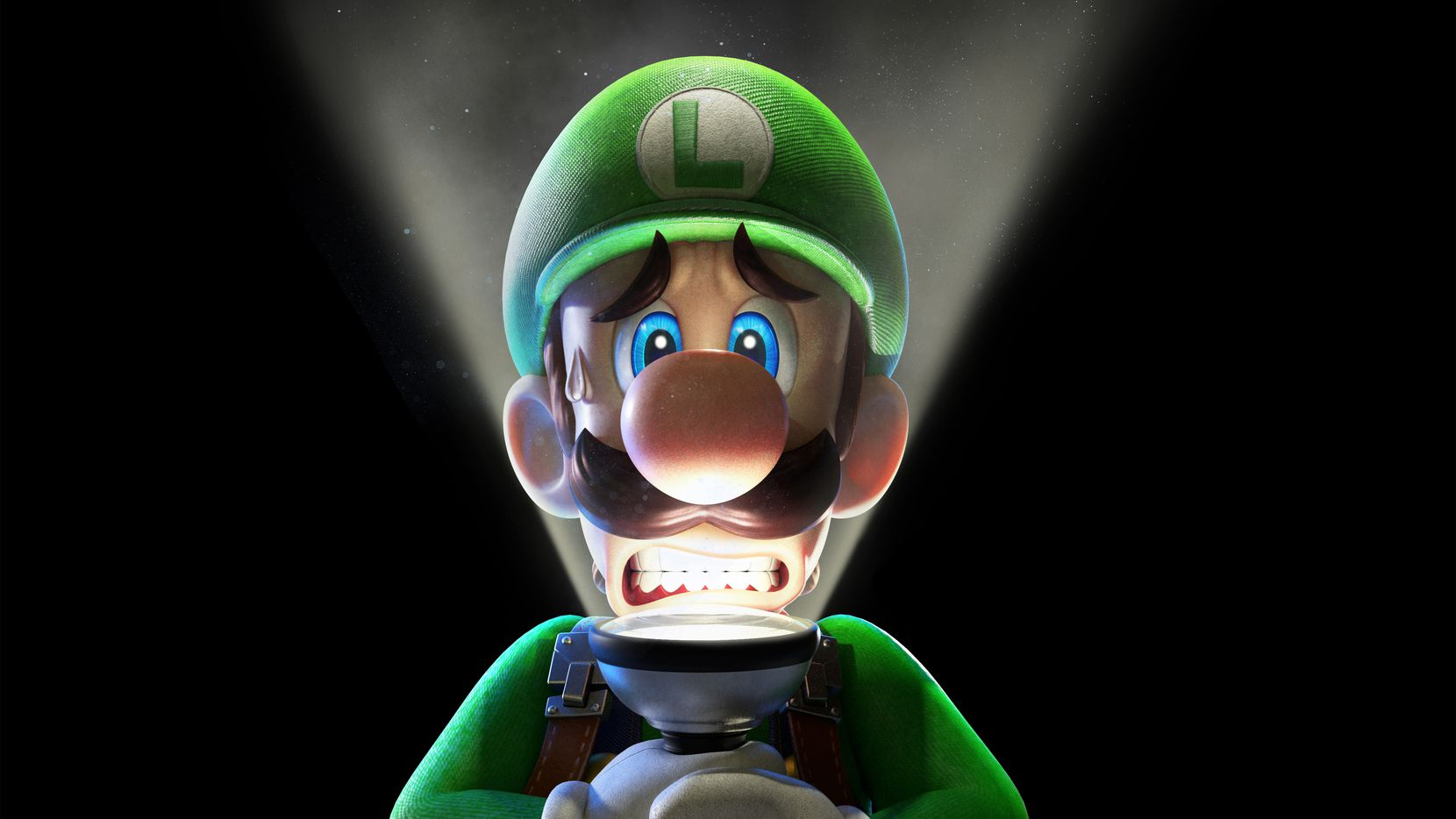 "Artwork from ""Luigi's Mansion 3"" on the Nintendo Switch."