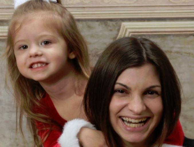 Heather Trimble and her daughter Matilda were injured in the crash.: