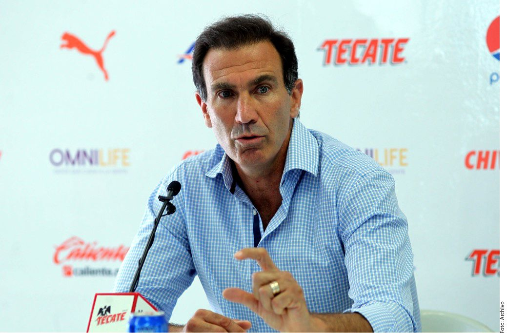 Francisco Gabriel de Anda aseguró que el plantel se irá reportando poco a poco durante la semana./ AGENCIA REFORMA
