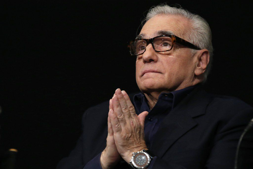 (FILES) This file photo taken on October 12, 2015 shows US director Martin Scorsese during a press conference for the opening of the Martin Scorsese exhibition at the Cinematheque Francaise in Paris.  AFP PHOTO / PATRICK KOVARIKPATRICK KOVARIK/AFP/Getty Images