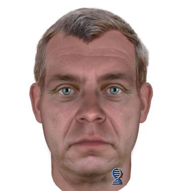 An image of what the 65-year-old version of Julie Fuller's killer might look like.