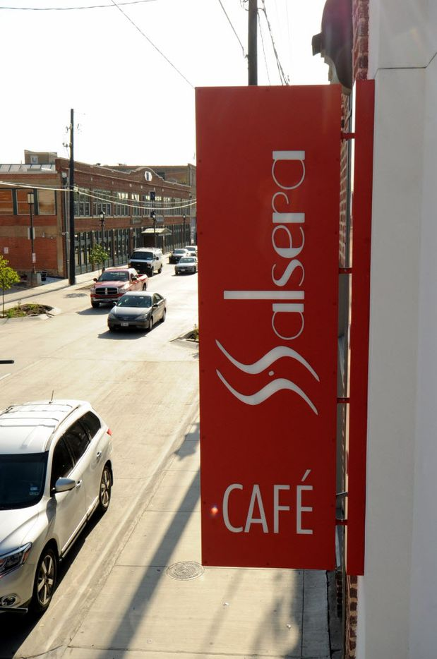 Cafe Salsera is located at 2610 Elm Street in Deep Ellum.