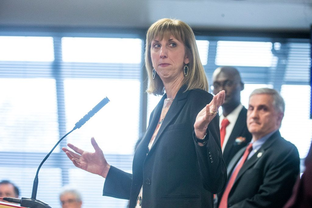 Plano superintendent Sara Bonser talks about school districts' frustrations that lawmakers might not deliver on their promise to funnel significantly more money to public schools.