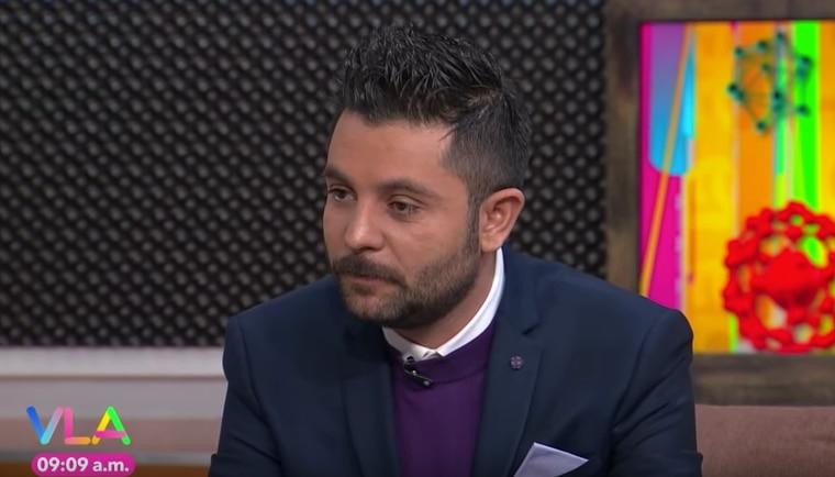 Ricardo Casares conductor de Tv Azteca.