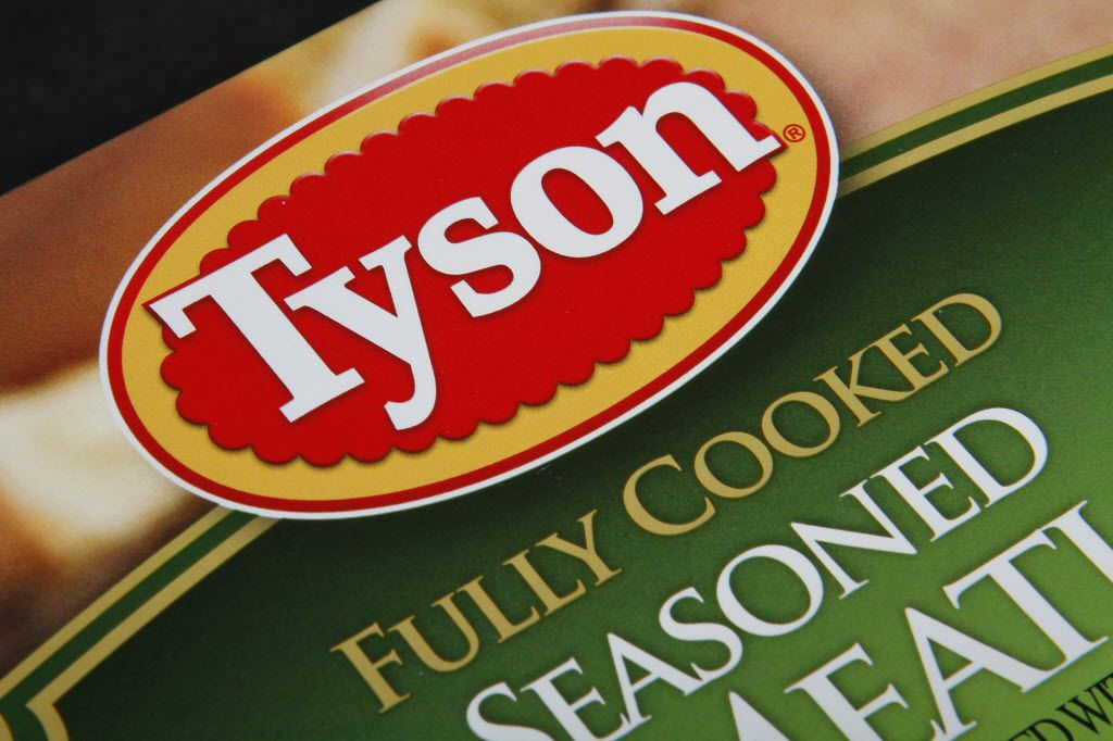 Tyson may build a new storage and distribution center in Denton. (AP Photo/Toby Talbot)