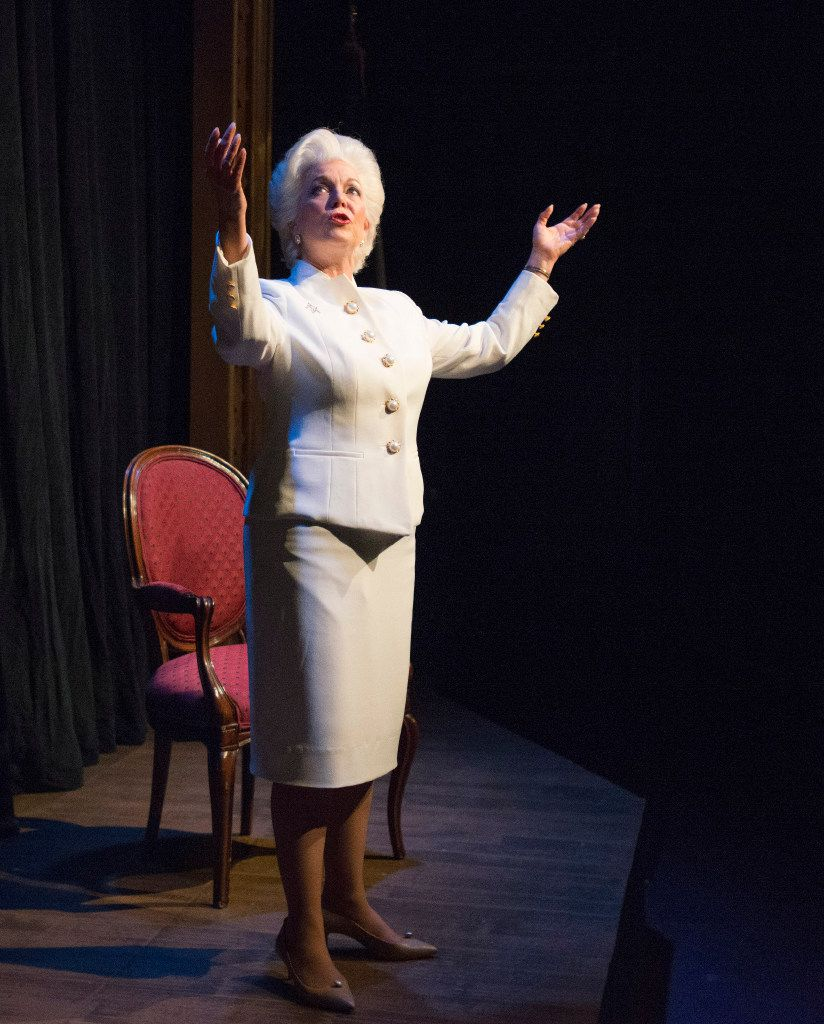 Linda Kay Leonard plays the title role in the production, which runs through Nov. 6.