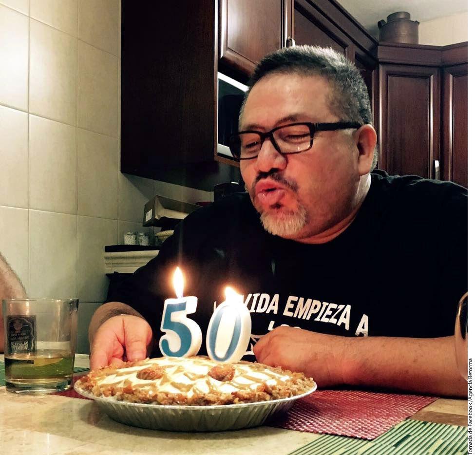 Francisco Javier Valdez Triana, hijo de Javier Valdez, periodista y escritor asesinado en Culiacán el 15 de mayo, publicó una carta de despedida a su padre en su cuenta de Facebook/ AGENCIA REFORMA