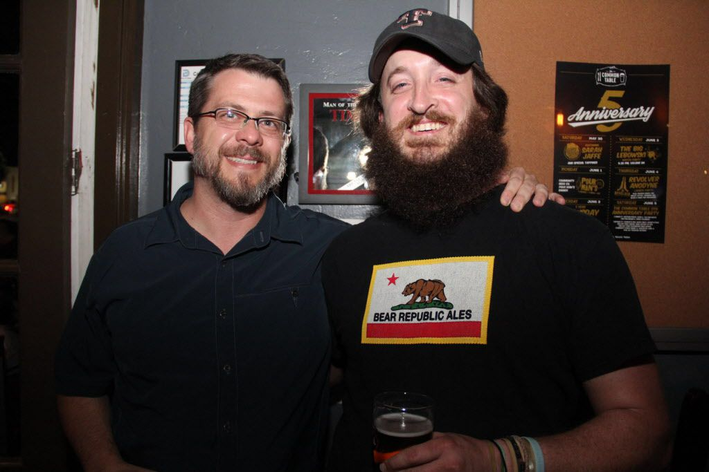 Common Table owner Corey Pond and Jeff Fryman at the event