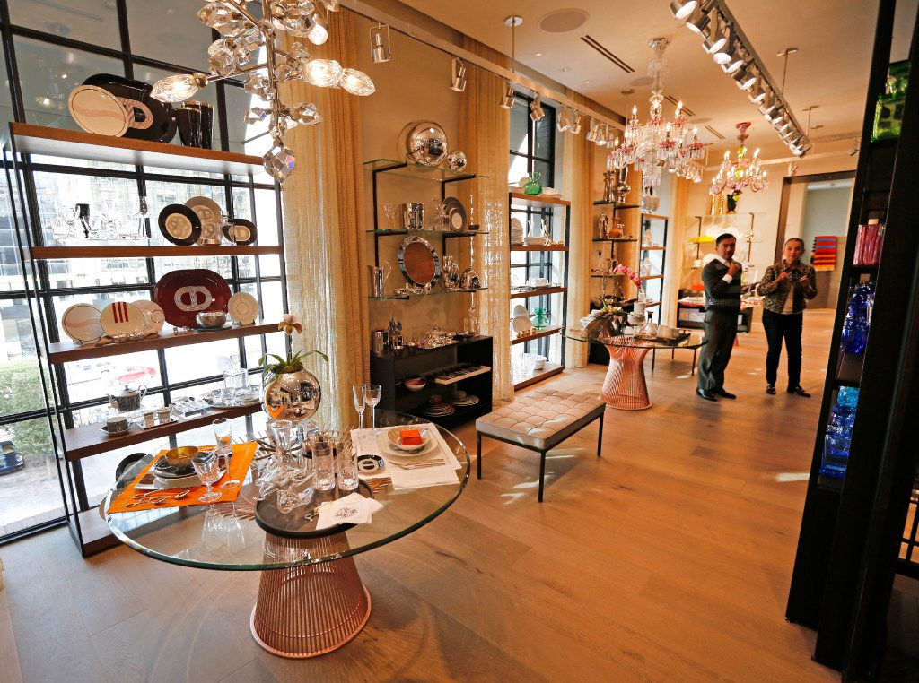 The Home section of Forty Five Ten, a new four-level store in downtown Dallas, photographed on Friday, November 11, 2016. (Louis DeLuca/The Dallas Morning News)