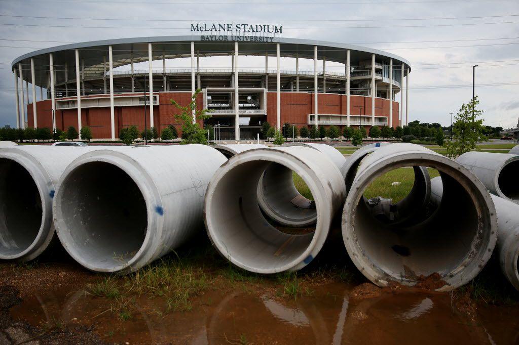 McLane Stadium on the campus of Baylor University.