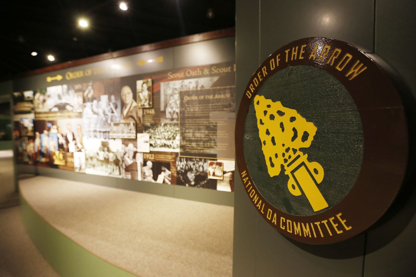 The Order of the Arrow exhibit at theNational Scouting Museum. (2015 File Photo/Brandon Wade)