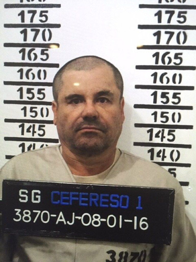 "Joaquin ""El Chapo"" Guzman was convicted on all 10 charges against him."