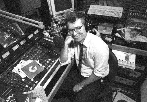 The late Glenn Mitchell, whom Krys Boyd succeeded at KERA-FM (90.1).