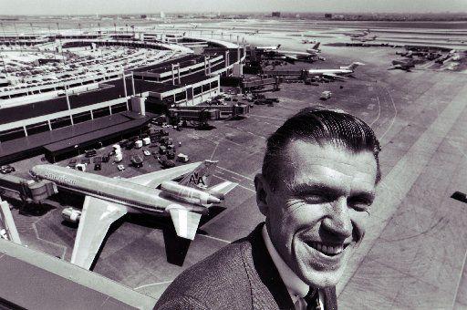 Shot April 20, 1988 - Robert Crandall - American Airlines // aahist // 09142015xPUB