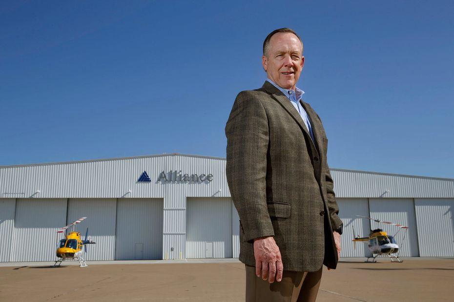 Tom Harris is president of Alliance Air/Aviation Services, which operates the Fort Worth-owned industrial-focused airport.