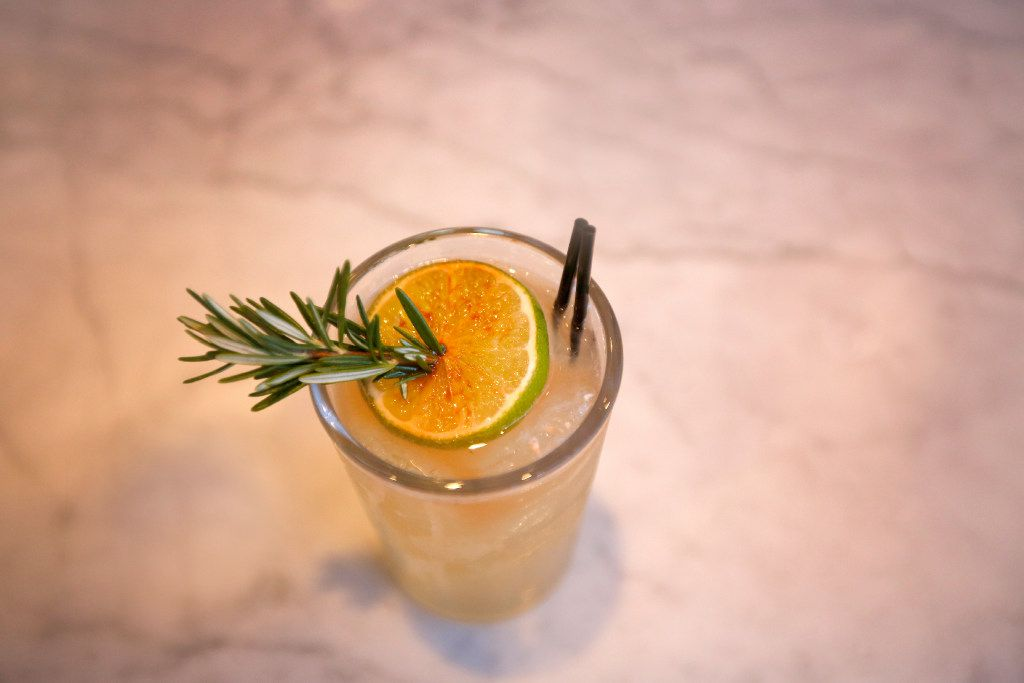 The Rosemary and Lime, with Ketel One vodka, Amaro Nonino, rosemary, Angostura, and smashed lime, served at North Italia, at Legacy West, in Plano, Texas, Friday, June 23, 2017.