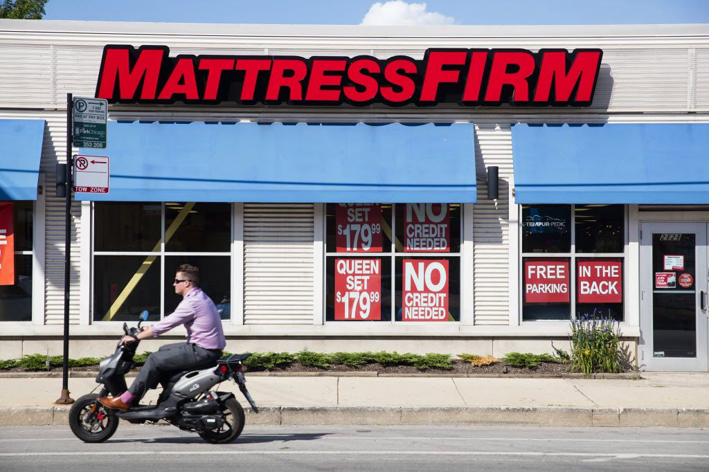A Mattress Firm at 2121 North Clybourn Ave. in Chicago.