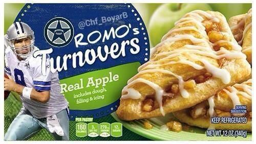 Tony Romo's Turnovers has been a pretty solid Cowboys Photoshop joke for years now.