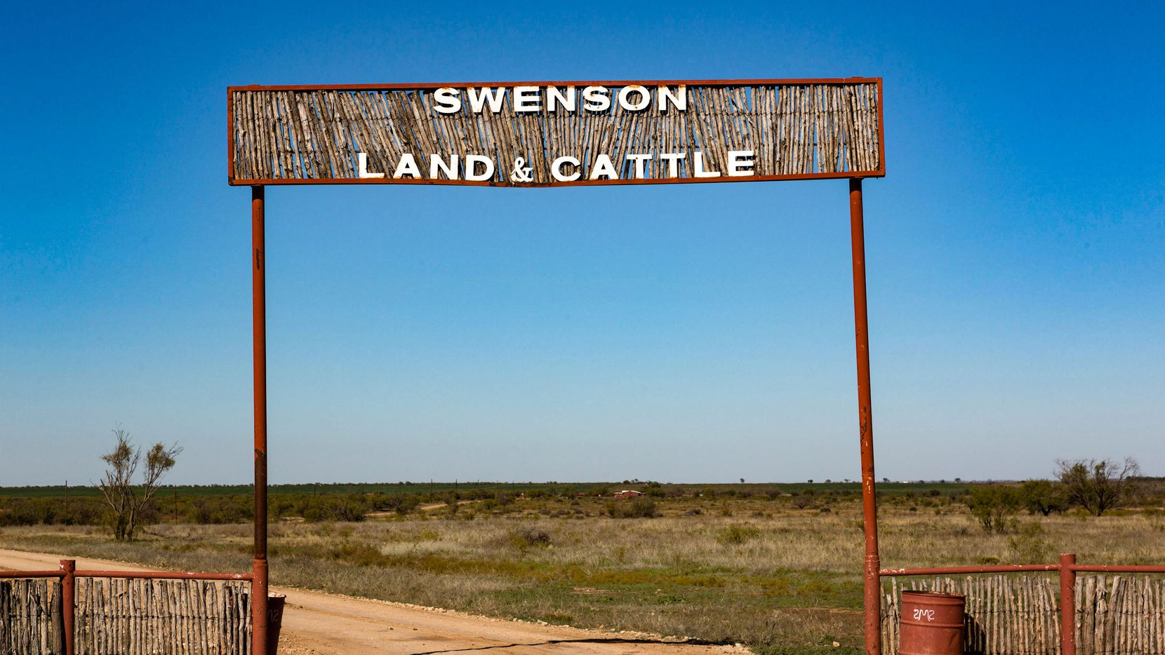 The Swenson Flat Top Ranch is north of Abilene.