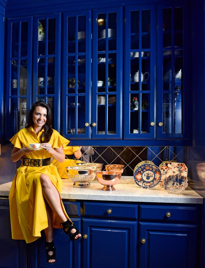 """Dallas author and entertaining guru Kimberly Schlegel Whitman inside her """"China Room"""" at her home in Dallas, Tuesday, March 20, 2018. Ben Torres/Special Contributor"""