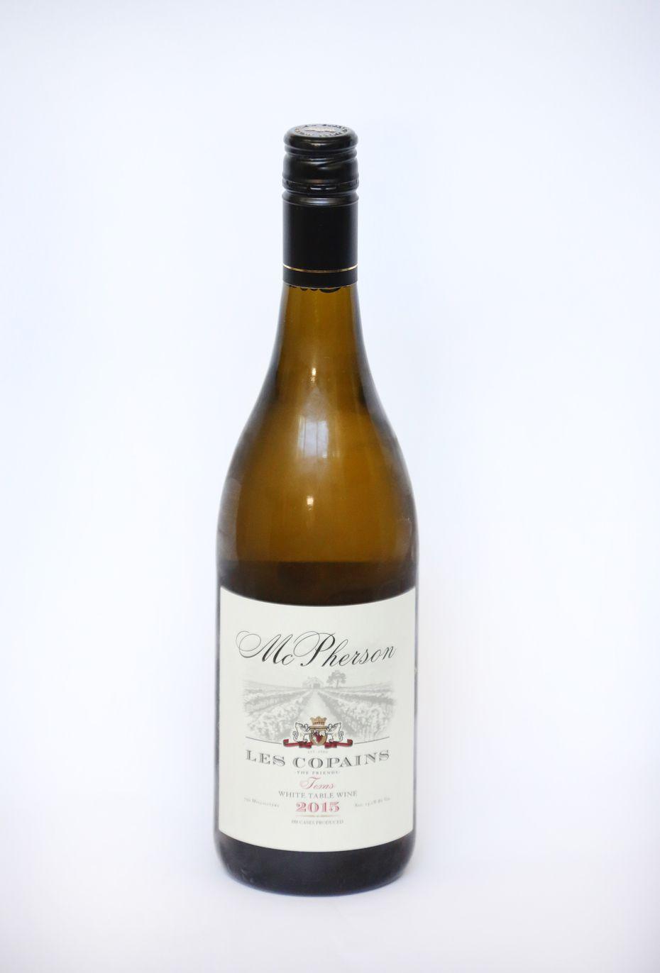 McPherson Les Copains White Table Wine 2015