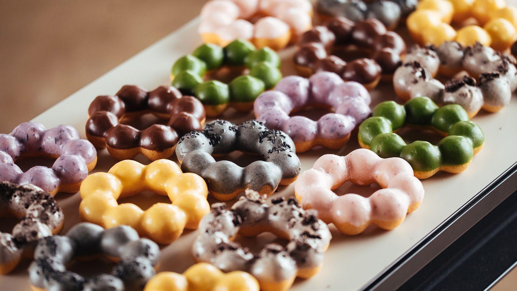 What's a mochi doughnut? Fat Straws Bubble Tea shop is