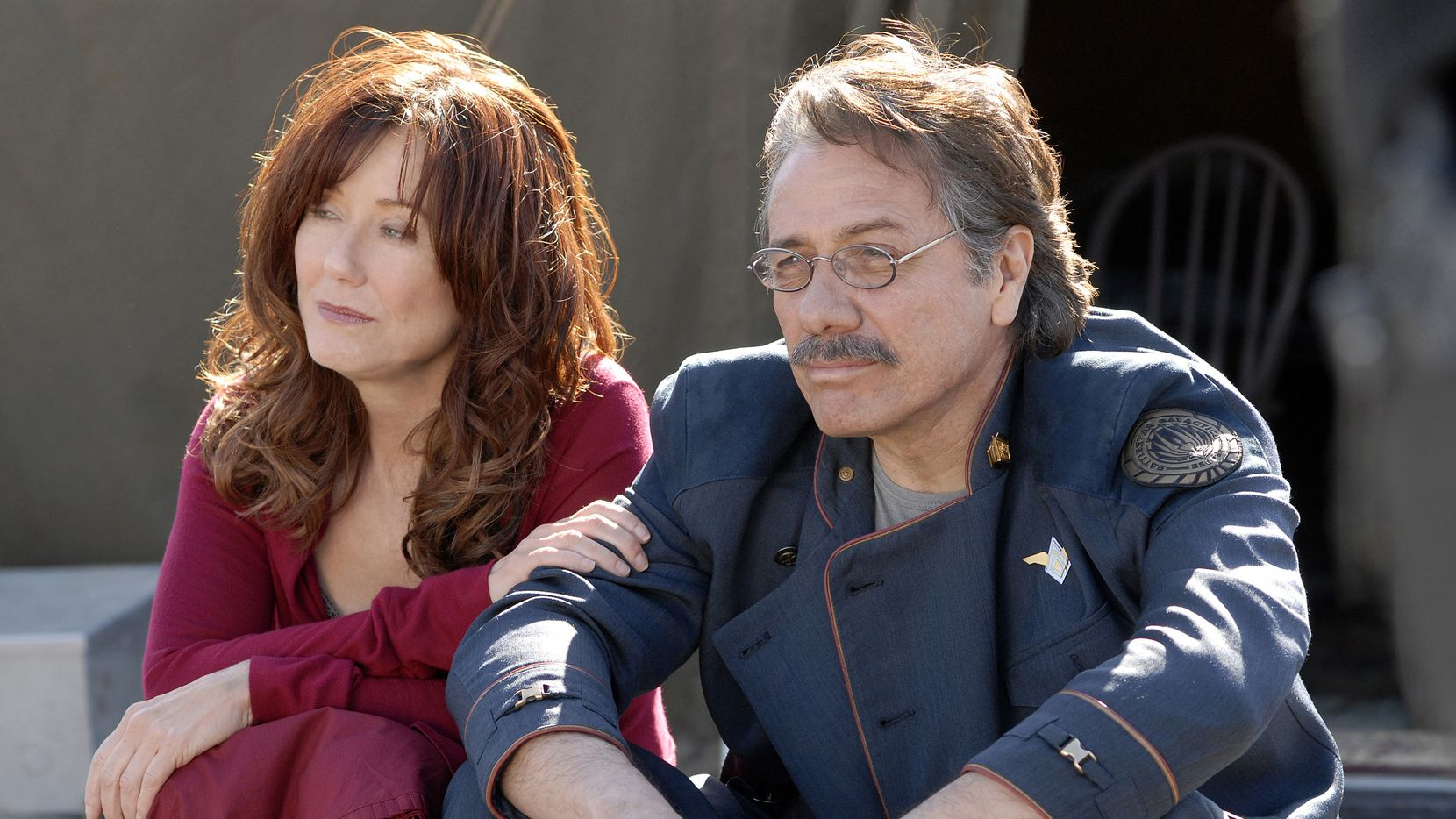 "FOMO is already setting in and this hasn't even happened yet. Mary McDonnell portrayed Laura Roslin and Edward James Olmos as Commander William Adama in ""BATTLESTAR GALACTICA."" They will participate in a cast reunion to close out the ATX Television Festival in Austin next week."