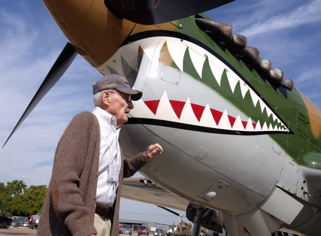 Frank Losonsky, shown during a 2014 Flying Tigers reunion in Addison, is the group's last survivor.
