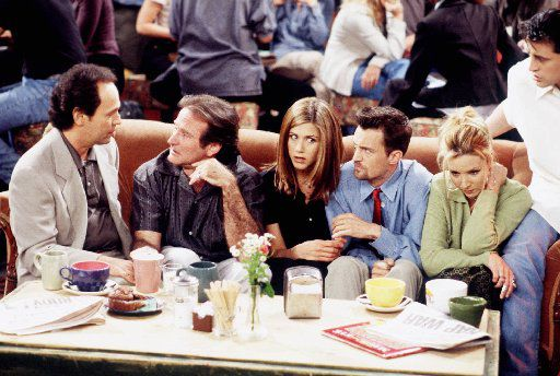 The One With The Ultimate Fighting Champion saw guest appearances from Billy Crystal and Robin Williams.