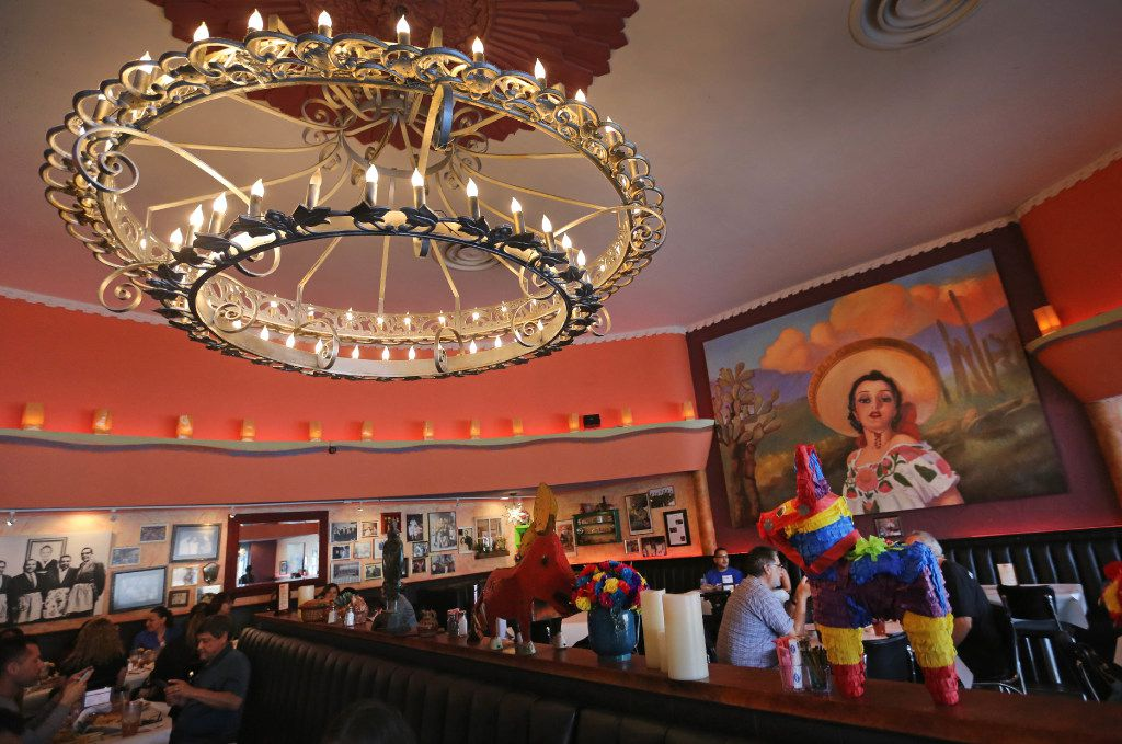 Photos for Robert Wilonsky column about the El Corazon Restaurant, and the fate of and fight over this Tex-Mex eatery, site of an El Chico in 1955 and still owned and operated by the Cuellar family, photographed on Thursday, April 13, 2017. (Louis DeLuca/The Dallas Morning News)