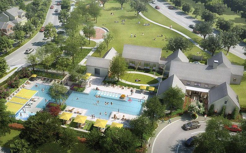 The 735-acre Grove community in Frisco will open this summer.