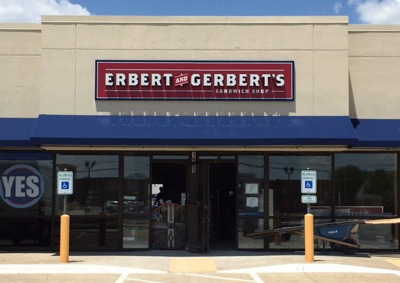 22-year-old Aubrey Janik is opening Erbert and Gerbert's in Plano on August 6th. She's the youngest person ever to open a E&G franchise.