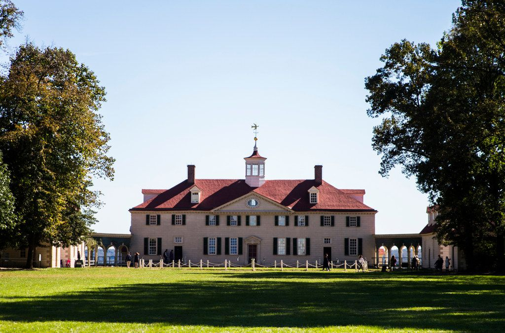Mount Vernon, the home of George and Martha Washington, is an easy day trip from Alexandria.