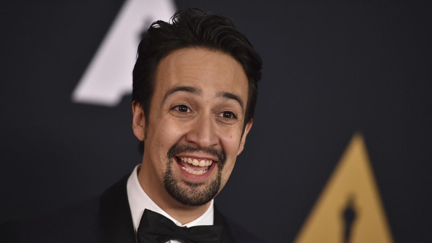 Lin-Manuel Miranda, creador de la obra musical Hamilton.(AP)