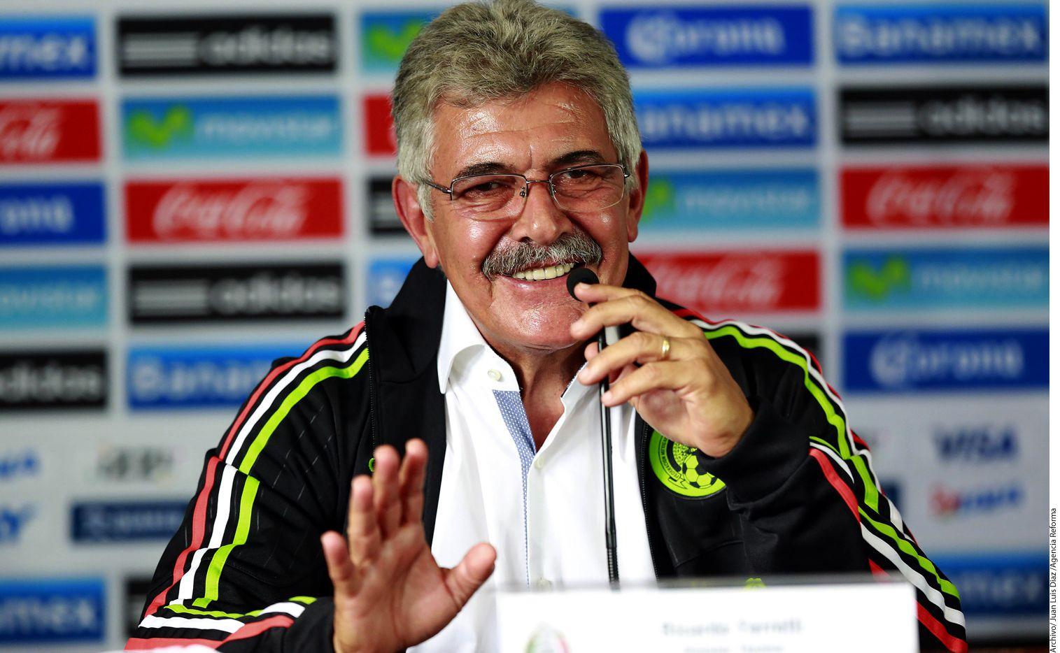 El estratega brasileño e interino en el Tri, Ricardo Ferretti, reconoció que se va muy contento con esta oportunidad y que nunca se le olvidará este proceso en su carrera como entrenador./ AGENCIA REFORMA