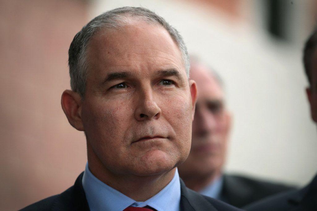 EPA Administrator Scott Pruitt was a critic of former President Barack Obama's EPA.