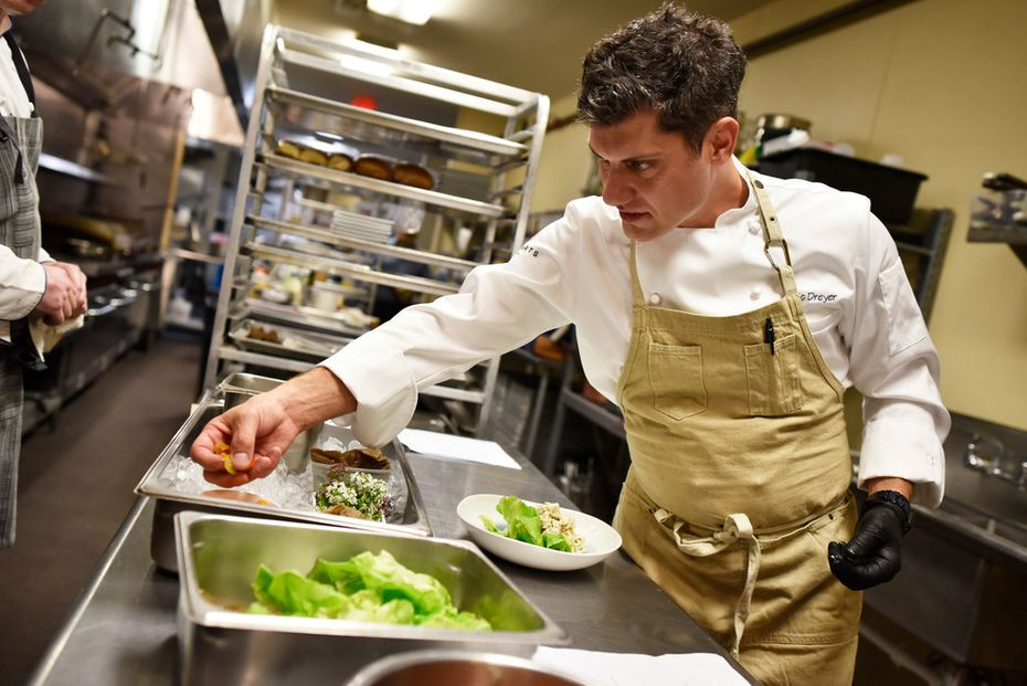 Executive chef Eric Dreyer, of Ellie's, has worked for Oprah Winfrey and Dallas chef Dean Fearing.