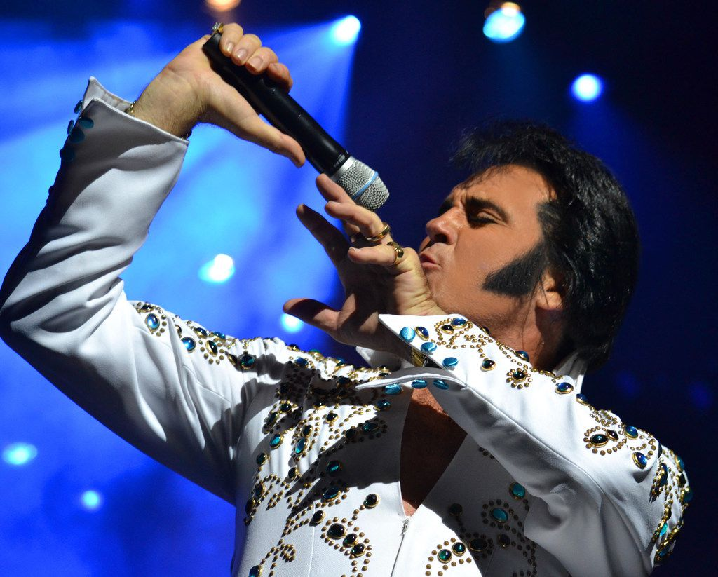 Kraig Parker will join the Fort Worth Symphony for a tribute to Elvis Presley on Nov. 5 at Bass Hall.