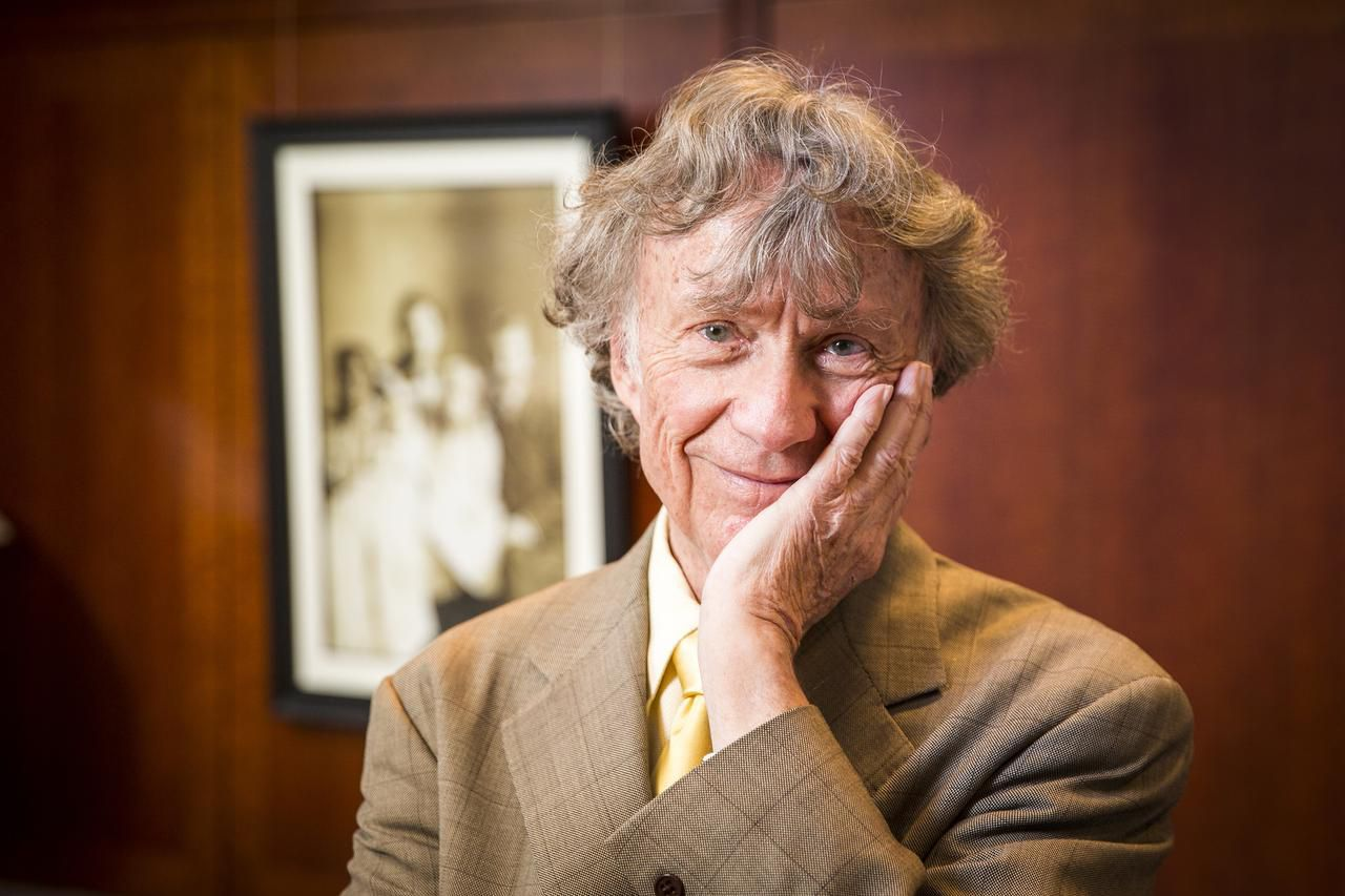 Legendary Dallas businessman Sam Wyly is fighting for his family's future in U.S. Bankruptcy Court. He was photographed at his office on March 20 in Dallas.