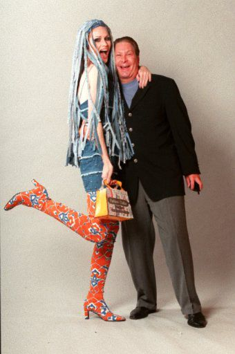 Dallas model Jan Strimple and Paul Neinast in 1998
