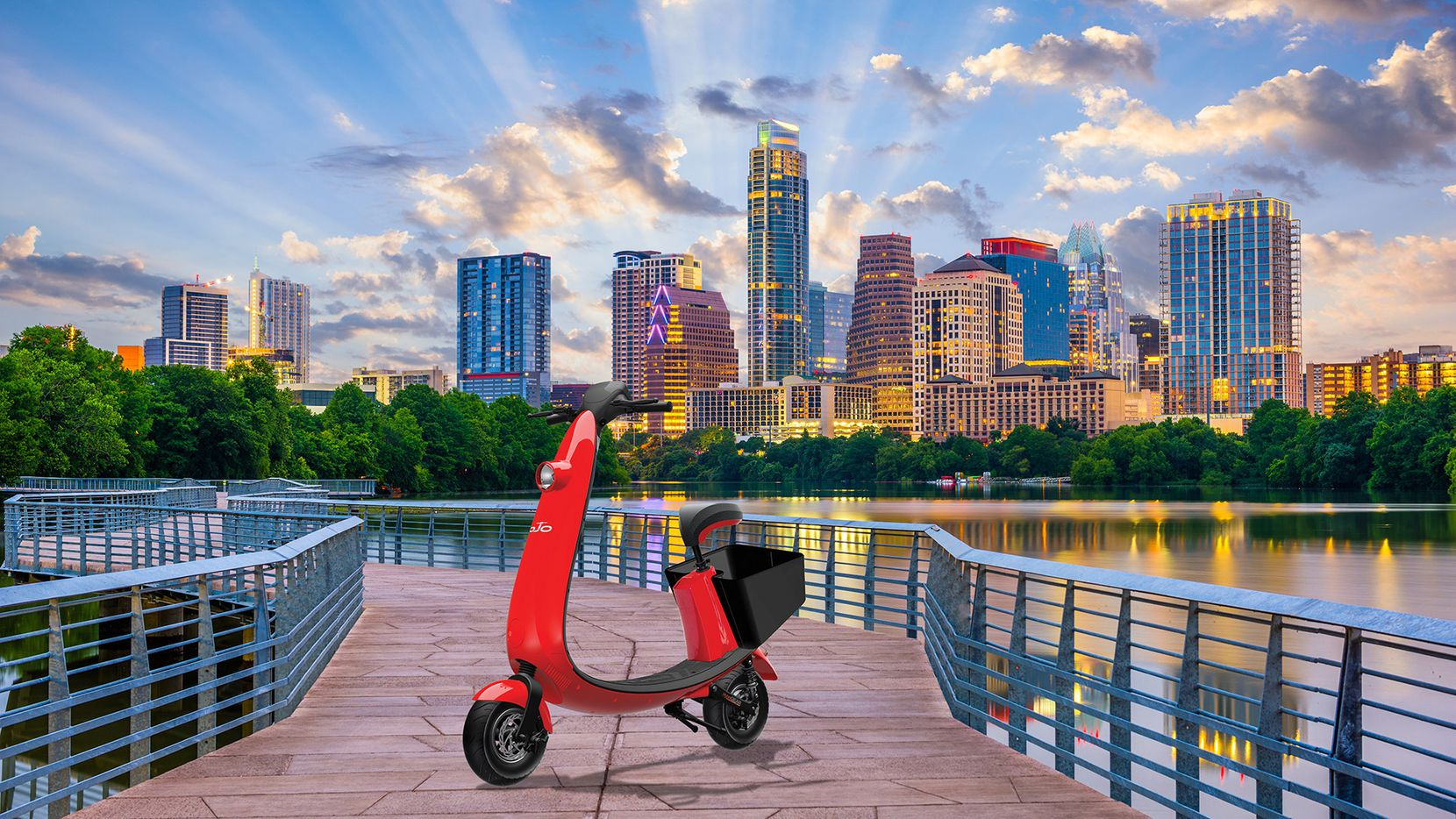 OjO Electric launches new scooter rideshare service in Austin, Texas