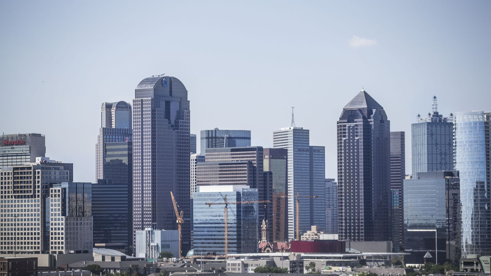 Amazon focused on the downtown Dallas area for its new headquarters location.
