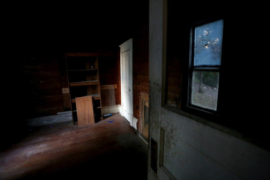 The scratch room inside the Haunted Hill House in Mineral Wells, Texas on Friday, May 12, 2017. (Rose Baca/The Dallas Morning News)