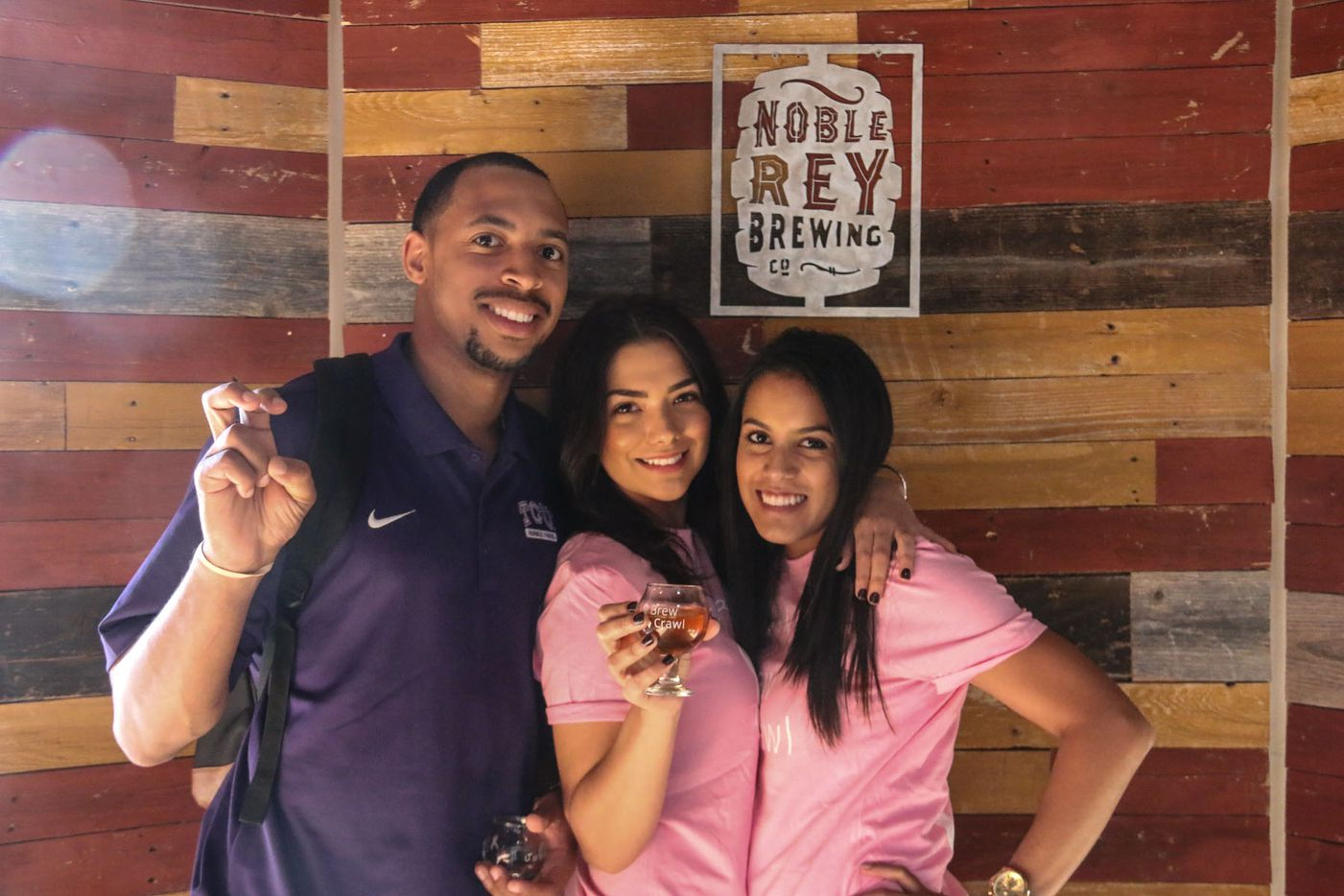 Noble Rey Brewing Co. was one of the stops during the inaugural Brew Crawl for Breast Cancer on Saturday in Dallas.