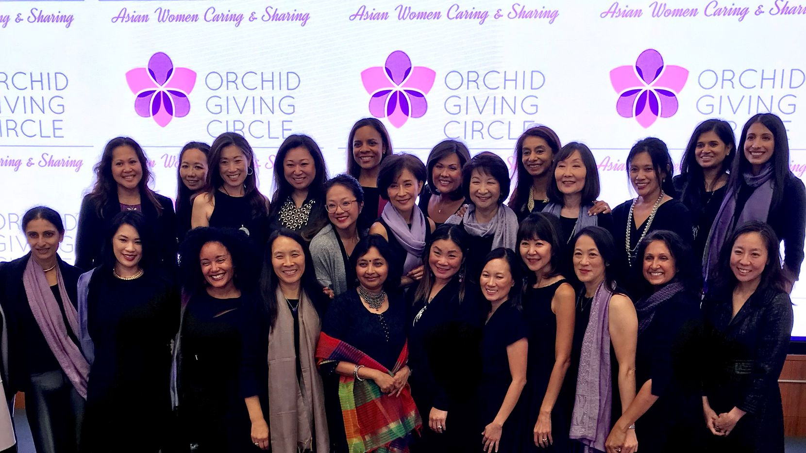 Members of the Orchid Giving Circle of Dallas held a grant presentation event Friday Oct. 12 at Toyota headquarters in Plano.