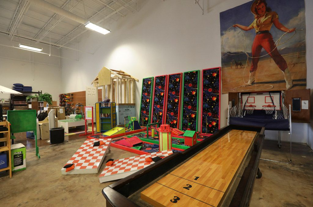 Games and artwork for sale at the new Habitat For Humanity ReStore in Plano. (Jason Janik/Special Contributor)