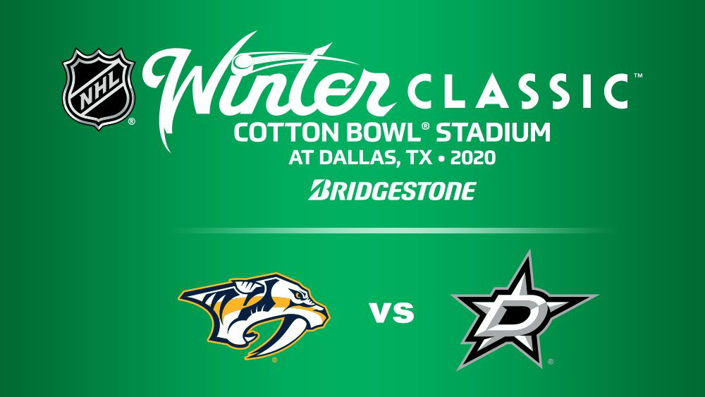 NHL commissioner Gary Bettman announced Friday that Dallas will play the Nashville Predators in the 2020 Winter Classic at the Cotton Bowl, the southernmost outdoor game in NHL history. The game will be on Jan. 1, 2020.