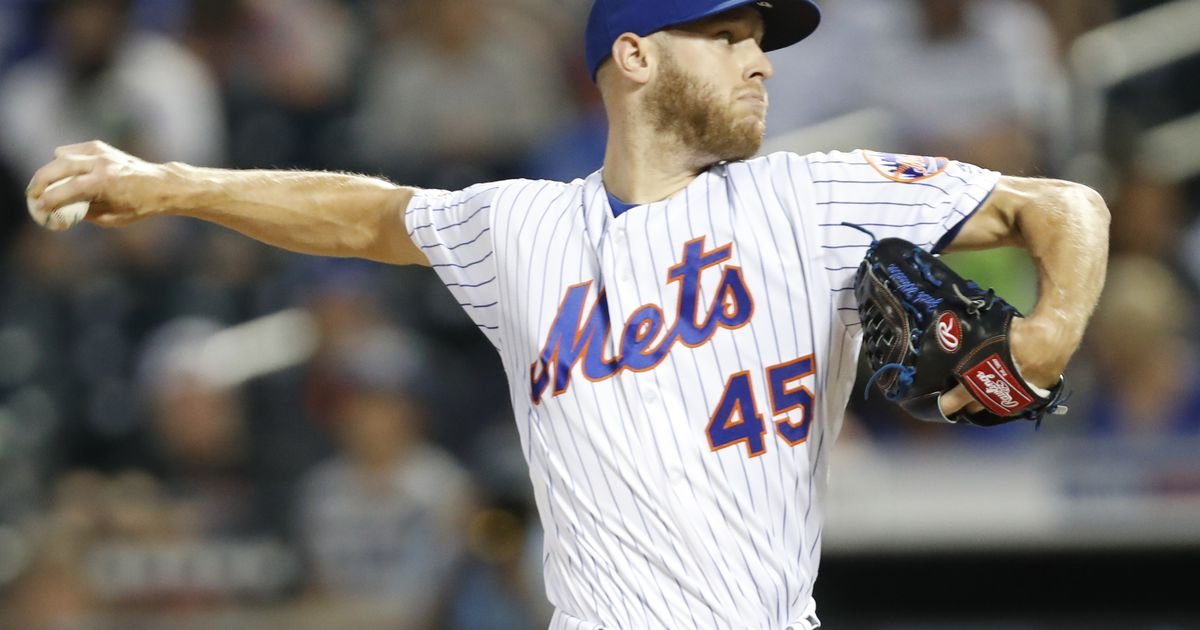 Reports: Rangers FA target Zack Wheeler agrees to deal with ...