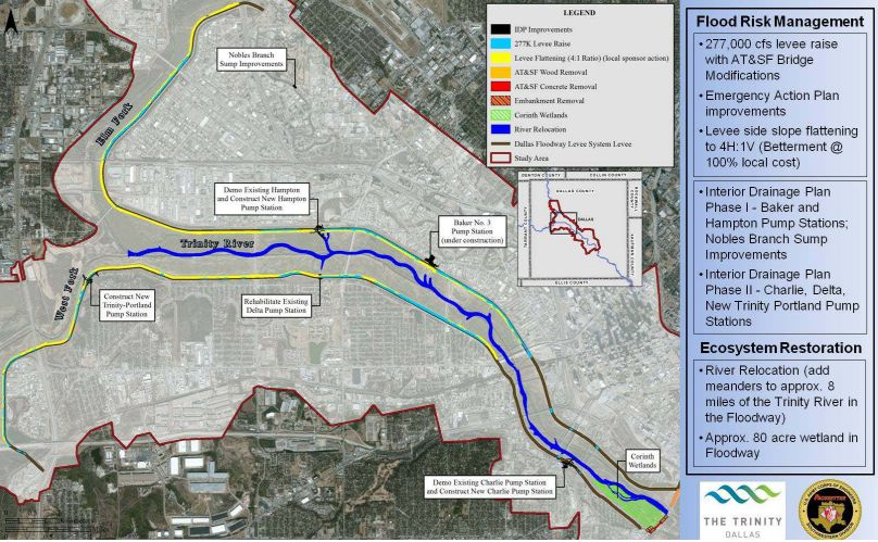 The U.S. Army Corps of Engineeers' Trinity River to-do list