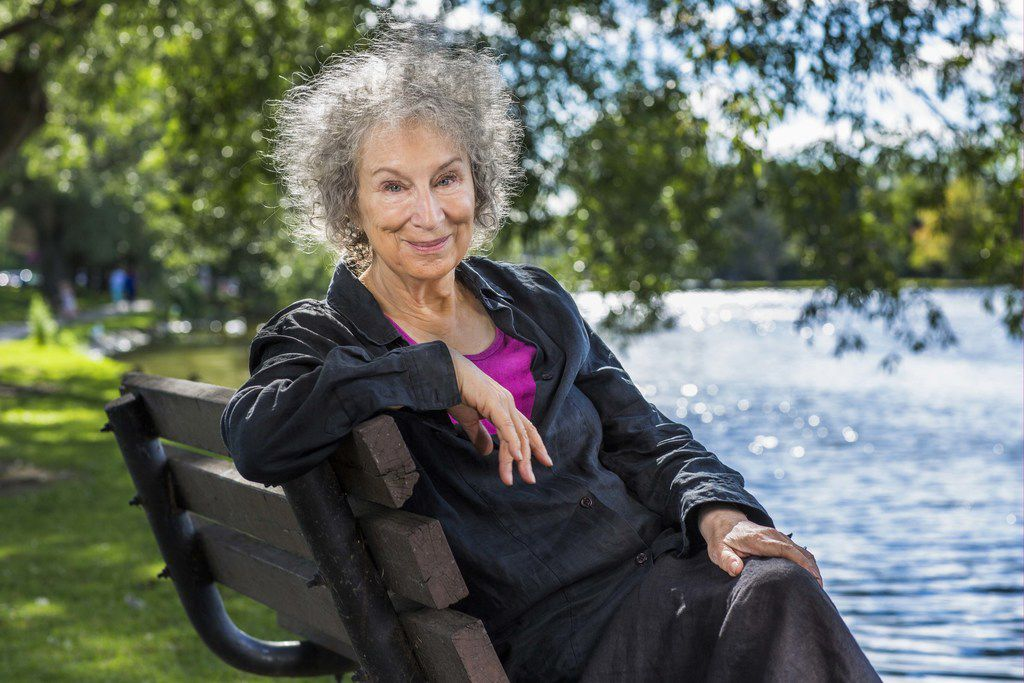 Margaret Atwood has said the rise of Donald Trump helped persuade her to write The Testaments, her sequel to The Handmaid's Tale.